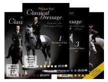 Classical Dressage Parts 1,2,3 & 4 Philippe Karl DVDs