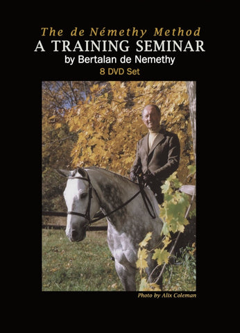 The de Nemethy Method: A training seminar by Bertalan de Nemethy - 8 DVD set