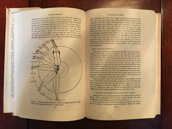 Margaret Cabell Self's Horsemastership: Methods of Training the Horse and the Rider 1952 edition