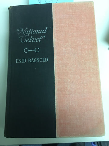 National Velvet, 1st US Edition Bagnold, Enid 1935 - William Morrow & Co. gently used (no jacket)