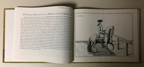 The Art of Riding a Horse or Description of Modern Manège in all It's Perfection by Baron d'Eisenberg fully illustrated with engravings