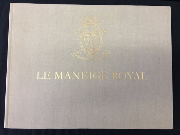 Le Maneige Royal 1970 J.A.Allen Leipzig oversized German/French Edition