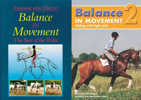 Balance in Movement (DVD) The Seat of the Rider by Susan von Dietz - 2 Volumes available