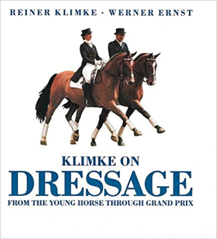 Klimke on Dressage: From the Young Horse Through Grand Prix - gently used hardcover with dust jacket