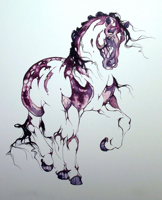 'Merlot' lithograph by Sarah Richards