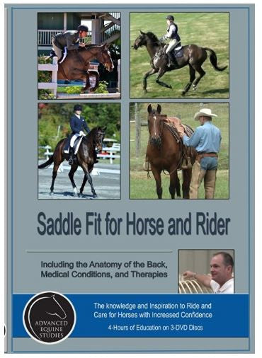 Saddle Fit for Horse and Rider - 4 hour EDUCATIONAL DVD set