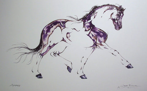 'Symphony' lithograph by Sarah Richards