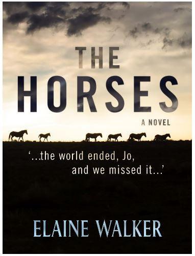 The Horses (a novel) by Elaine Walker