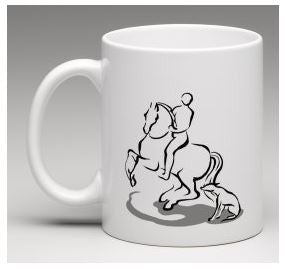 Collectible Williams Dressage Logo Mug Limited Edition