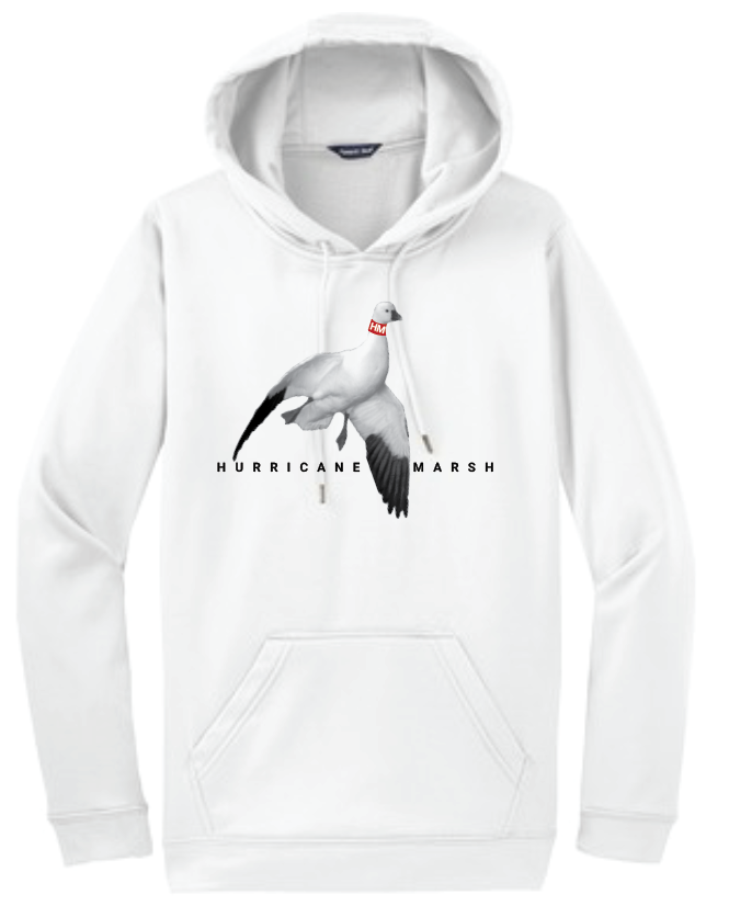 Hurricane Marsh Cotton Snow Goose Hoodie