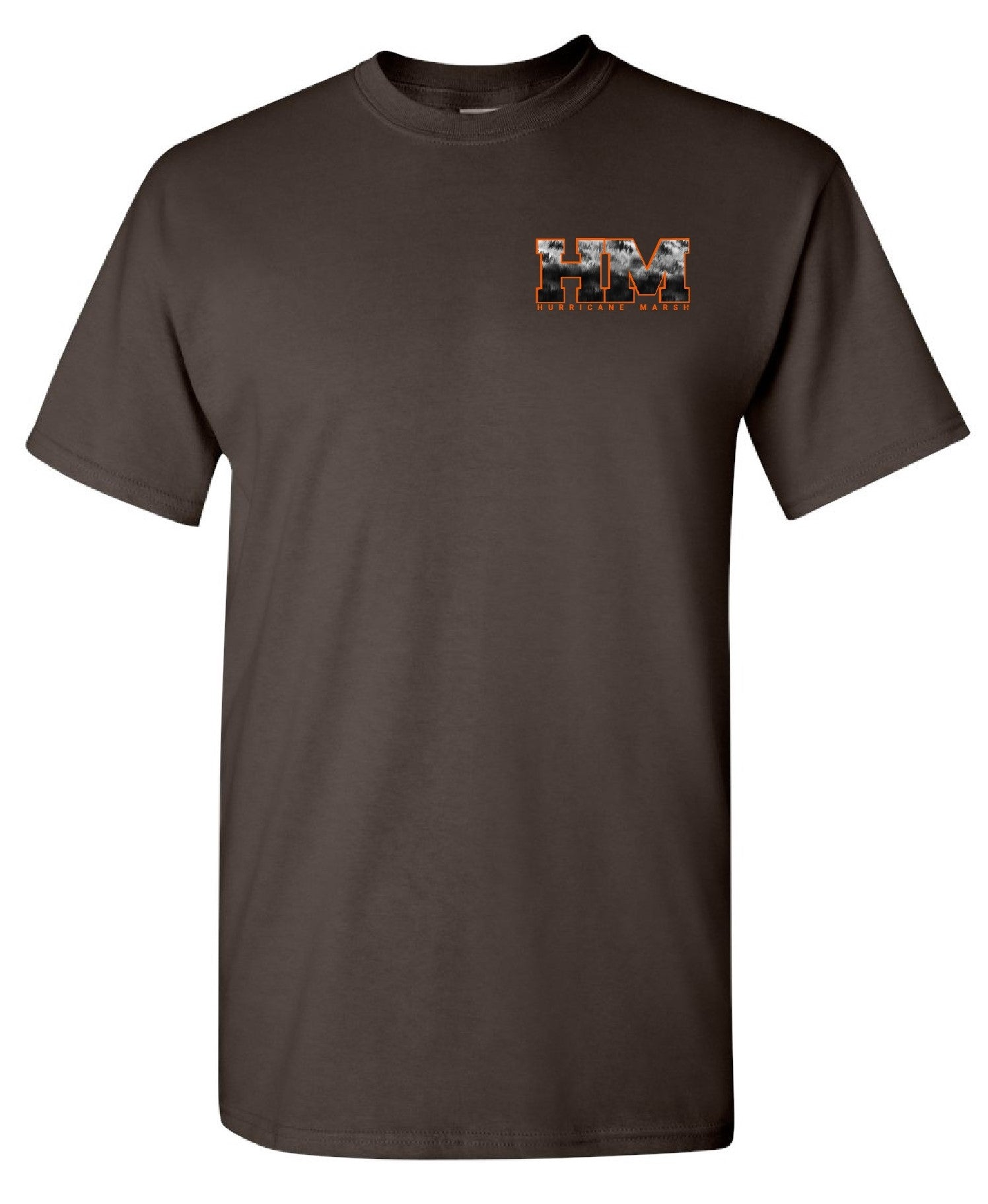 "Hurricane Marsh ""Tarbelly"" Short Sleeve T-Shirt Brown"