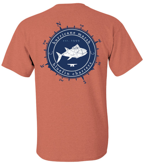 "Hurricane Marsh ""Bluefin Charters"" T-Shirt"
