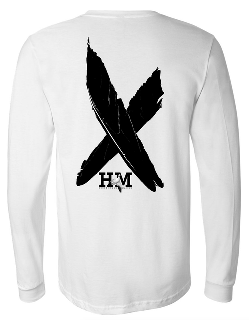 Hurricane Marsh Performance Snow Goose Long Sleeve T-Shirt