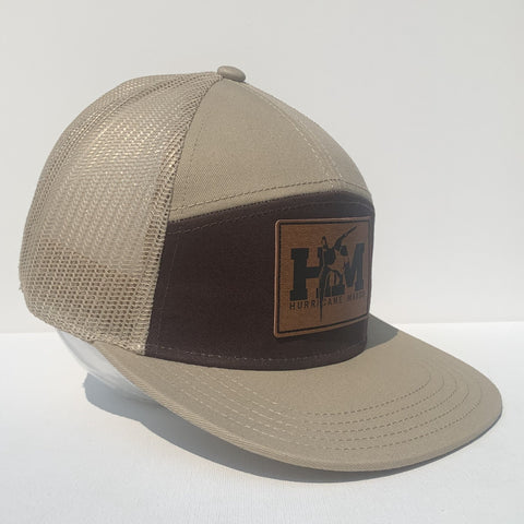 Honker Flat Bill Hat Black/White