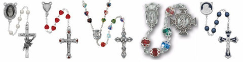 Large Selection of Beautiful Crafted Rosaries!