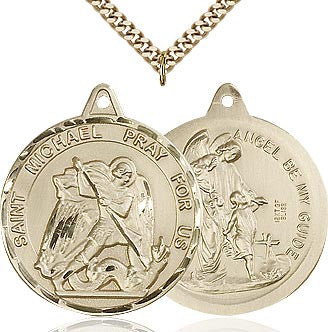 St. Michael 14Kt. Gold Filled Medal