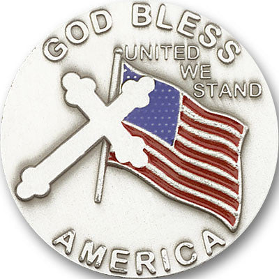 Car Visor Clip - God Bless America