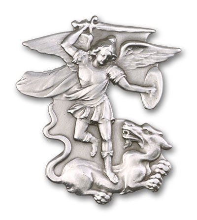 Car Visor Clip - St. Michael