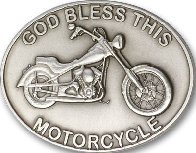 Car Visor Clip - God Bless This Motorcycle