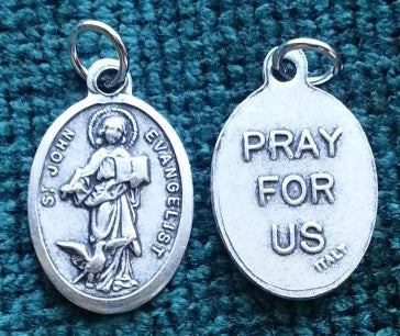 St. John the Evangelist  Medal - Discount Catholic Store