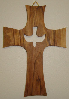 "5"" Holy Spirit Wall Cross - Discount Catholic Store"