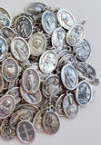 Lot of 130 DIFFERENT Catholic Religious Medals. Many RARE Medals!