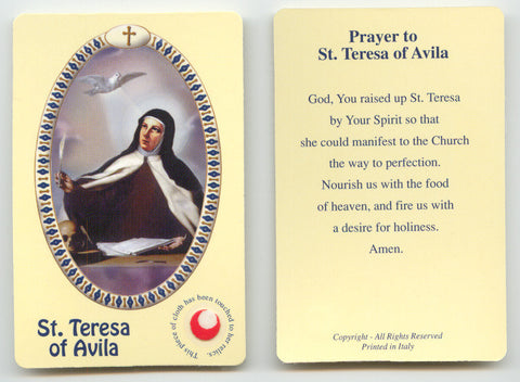 St. Teresa of Avila - Discount Catholic Store