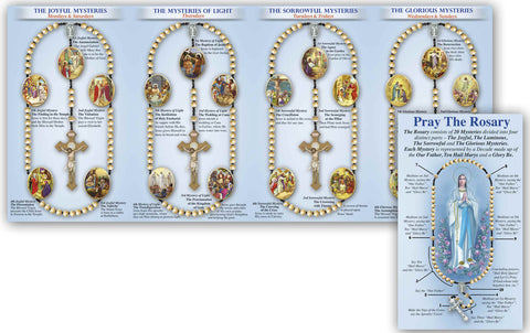 Laminated Rosary Pamphlets (Pack of 100)