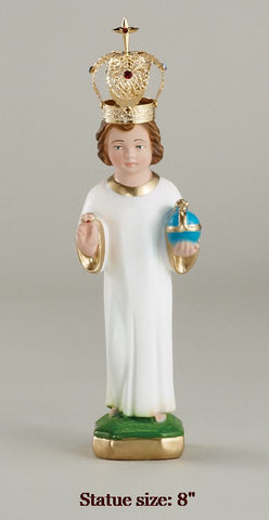 Infant of Prague Crowned- Various Sizes