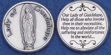 Our Lady of Guadalupe Religious Pocket Coin