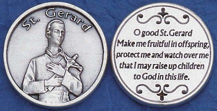 St. Gerard Religious Pocket Coin