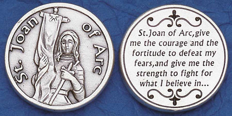 St. Joan of Arc Religious Pocket Coin