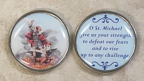 St. Michael Pocket Coin - Pack of 12