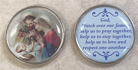 Holy Family Pocket Coin - Pack of 12