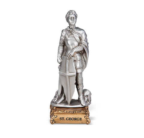 St. George Pewter Statue