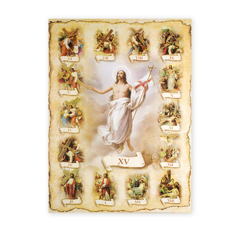 Stations of the Cross Oversized Poster