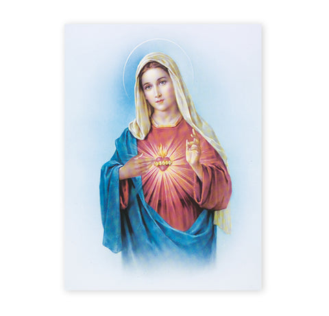 Immaculate Heart of Mary Oversized Poster