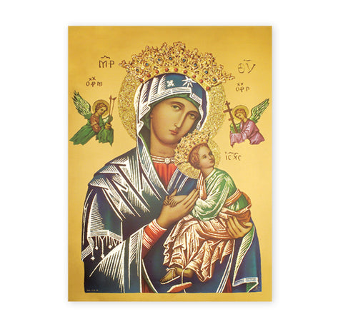 Our Lady of Perpetual Help Oversized Poster