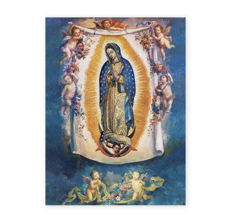 Our Lady of Guadalupe with Angels Oversized Poster