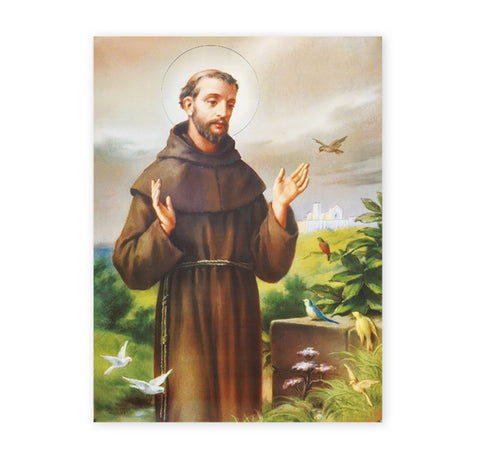 St. Francis Oversized Poster
