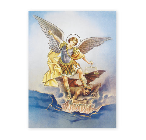 St. Michael Oversized Poster