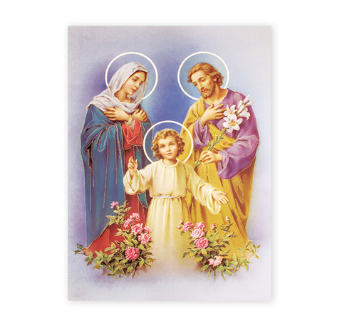 Holy Family Oversized Poster