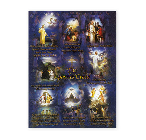 Apostles' Creed Oversized Poster