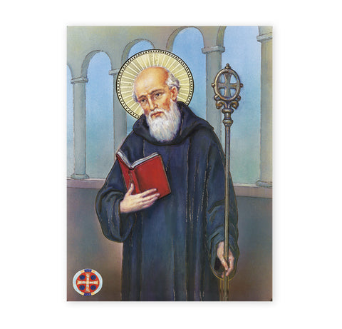 St. Benedict Oversized Poster