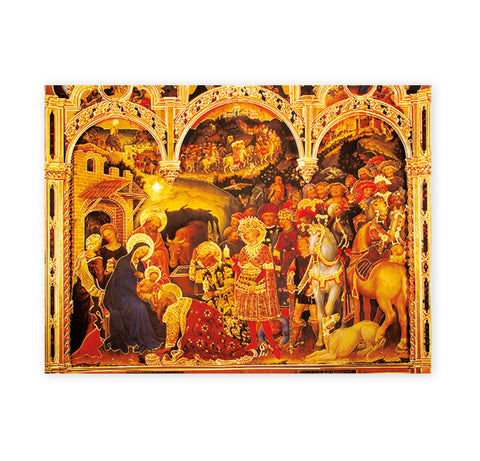Adoration of the Magi Oversized Poster