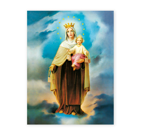 Our Lady of Mount Carmel Oversized Poster
