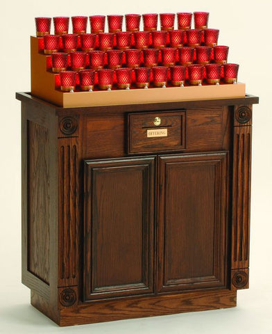 Electric Institutional Votive Stand - Discount Catholic Store