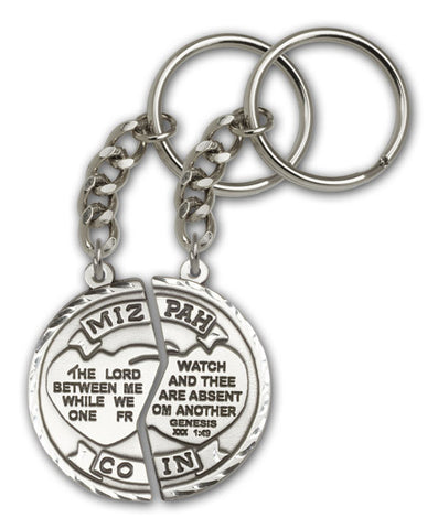 Key Chain - Mizpah (Family)