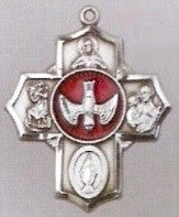 Sterling Silver 5 Way Medal - Discount Catholic Store