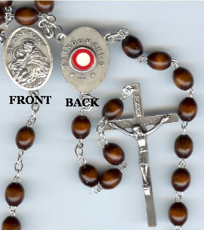 St. Anthony Relic Rosary - Discount Catholic Store
